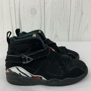 AIR JORDAN 8 TAKE FLIGHT KIDS SNEAKERS 11C